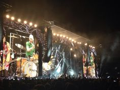 my own photos taken from my seat Adelaide Oval, Adelaide Australia The Rolling Stones On Fire Tour 25/1014