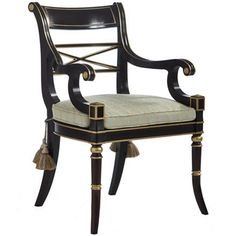 Kindel regency dining chair (Hickory Chair maybe?)