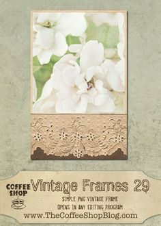 The CoffeeShop Blog: CoffeeShop Vintage Frames 29!