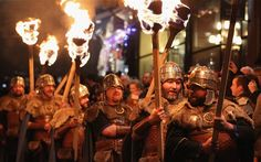 Viking Ceremony Kicks Off Edinburgh Hogmanay Celebrations