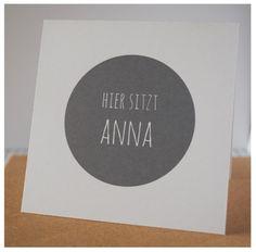 Einladungskarten - dots...Tischkarten - ein Designerstück von ene-mene-mu bei DaWanda