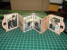 Tearful How To Scrapbooking Mini Albums Photo, Mini Albums Scrap, Diy Mini Album, Mini Album Tutorial, Scrapbooking Mini Album, Scrapbooking Layouts, Scrapbook Journal, Accordian Book, Engagement Gift Boxes