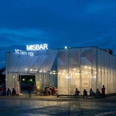 Kineforum Misbar open-air cinema by Csutoras and Liando