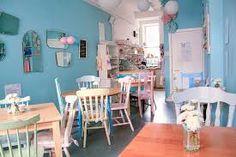Image result for vintage tea shop