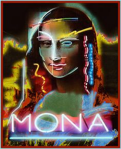 Mona Up In Lights... | The Whimsey Asylum... | Flickr