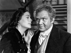 GWTW: the scene (Ellen whispers to Gerald that Wilkinson must be discharged)
