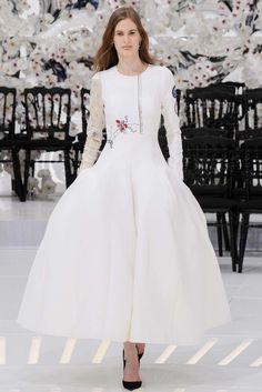 Christian Dior Fall 2014 Couture Fashion Show - Carolina Sjostrand (PREMIUM)