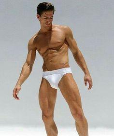 Underwear White man