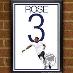 Danny Rose 3 Poster - Tottenham Hotspur F.C. Soccer Poster- Spurs poster, art, wall decor, home decor, world cup, coys, spurs by Graphics17 on Etsy