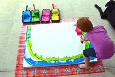 Independent Painting- One day I will be brave enough to let my future children try this!