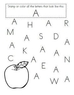 Pre Kindergarten Alphabet Worksheets Great for Pre K Letter Recognition Pre K Worksheets, Alphabet Worksheets, Alphabet Activities, Kindergarten Worksheets, Printable Worksheets, Pre Kindergarten, Printables, Alphabet Tracing, Preschool Literacy