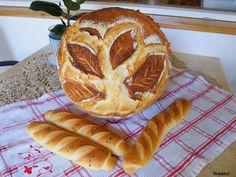 Szánter blogja.: Ismét levélmintás kenyér.