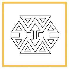 Cross Stitch Tattoo, Sewing Labels, Islamic Patterns, Tapestry Crochet, Cute Tattoos, Heart Tattoos, Tattoo Studio, Paper Design, Pattern Art