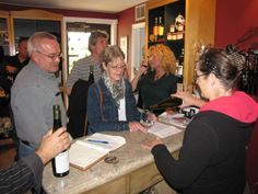 Sandy's Riverside Grill's annual Wine Tour Wine Tasting, Grilling, Tours, Party, Crickets, Receptions, Direct Sales Party