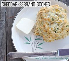 Chile Cheese Cornbread Scone Recipe — Dishmaps