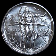 1936 Oregon Trail Commemorative Half Dollar Absolutely Gemmy Scarce only 10,000 minted that's low in the world of coins Coins Make Cents