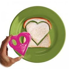 Mom Invented Love Bites are seriously sweet for Valentines Day! Great for the kids but when my husband surprised me by cutting my sandwich into a heart, the message was bigger than words!