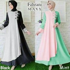 Batik Fashion, Abaya Fashion, Muslim Fashion, Fashion Dresses, Hijab Dress Party, Hijab Style Dress, Estilo Abaya, Modele Hijab, Modesty Fashion