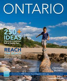 Hot off the press: The Ontario Summer Magazine! #DiscoverOntario