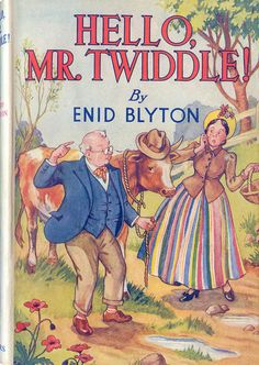 by Enid Blyton Old Children's Books, Vintage Children's Books, My Books, Story Books, Antique Books, Enid Blyton Books, Cartoon Books, Summer Books, Children's Book Illustration