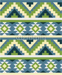 Vector: Ethnic seamless pattern
