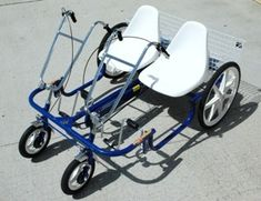 Adapted Tricycle Accessory Foot Pedal Attachments