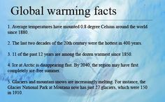 Quotes Facts | Stop Global Warming Quotes|Facts|Effects|Causes|Quote|Greenhouse ...: