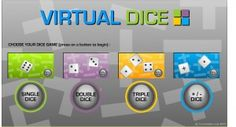 Virtual Dice..Wow! Love this for math centers and games!