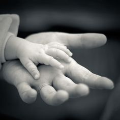 Precious little hands!