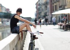 On the Street…..Navigli District, Milan « The Sartorialist-- Love the moment, I would be feeling very peaceful