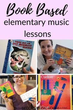 Book Based Lessons for Elementary Music - Becca's Music Room