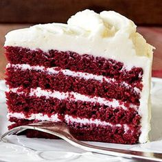 Red Velvet Cake Recipe. Favorite cake in the world
