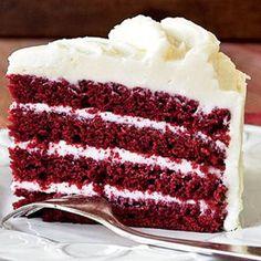 Red Velvet Cake Recipe. Favorite cake in the world