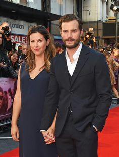 How This Beauty Editor Gets a Red Carpet Glow in 4 Foolproof Steps - Jamie Dornan and Amelia Warner Welcome Third Child - Amelia Warner Jamie Dornan, New Baby Girl Names, Estilo Meghan Markle, Great Fire Of London, Jaime Dornan, Fifty Shades Of Grey, 50 Shades, Princesa Diana, British Actresses