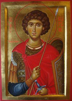 Άγιος Γεώργιος / Saint George Church Interior, Byzantine Icons, Orthodox Christianity, Saint George, Orthodox Icons, Christen, Renaissance Art, Kirchen, Sketchbooks