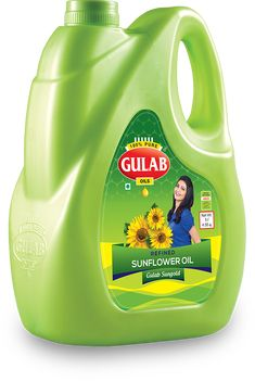 Try our cholesterol free 100% Pure Sunflower Oil to remain fit. Gulab Oils provide Best Sunflower Oil in India now in Online stores.