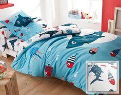 linge de lit enfant fonds marins - Becquet