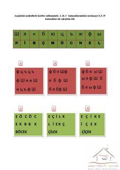 4.Sınıf Dikkat Etkinlikleri | Dikkat ve Görsel Algılama Periodic Table, Periodic Table Chart