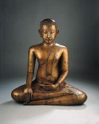 a rare thai, sukhothai/ayutthaya style, bronze figure of gautama siddharta , CENTURY Buddha Sculpture, Buddha Statues, Art Thai, Arched Eyebrows, Indian People, Buddhist Art, 16th Century, Asian Art, Serenity