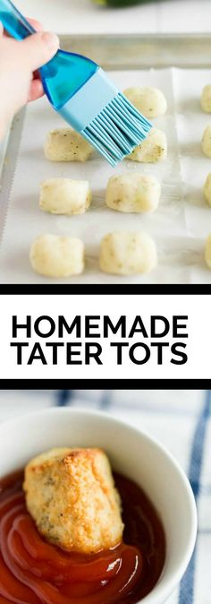 Ideas For Dairy Free Casserole Recipes Tater Tots Dairy Free Butter Recipe, Dairy Free Recipes Easy, Tater Tot Bake, Homemade Tater Tots, Easy Kid Friendly Dinners, Casserole Recipes, Dinner Recipes, Yummy Food, Side Dishes