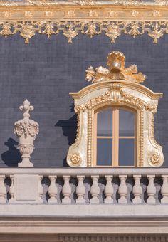Paris Photography Golden Window at the Palace by GeorgiannaLane