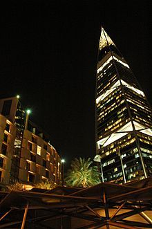 Faisaliah tower (right) and the al-Faisaliah hotel (left) At the upper end, hotel prices in Riyadh have increased rapidly in the past few years and are now almost as expensive as Dubai. Expect to pay north of Travel Around The World, Around The Worlds, Riyadh Saudi Arabia, Camels, Free Travel, Shopping Mall, Travel Photos, Dubai