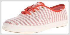 Keds Damen CH Cabana Stripe Coral Schnürhalbschuhe, Pink (Pink), 40 EU - Schnürhalbschuhe für frauen (*Partner-Link)