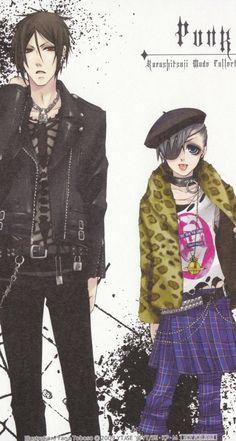 Punk!!! ^~^ oh my GAWD Sebastian is soo HOTT!!!! <3 <3 /.\