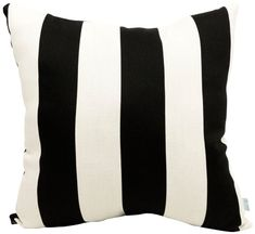 Outdoor Decorative Pillows  Majestic Home Goods Pillow, X-Large, Vertical Stripe, Black Outdoor Living *** This is an Amazon Associate's Pin. Find the item on the website by clicking the image.