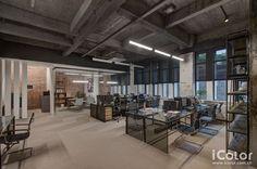 工業風 辦公室 - Google 搜尋