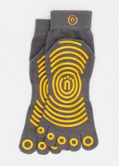 A tree is planted for every pair sold! Great option for barre socks [Organic Cotton Grip Socks