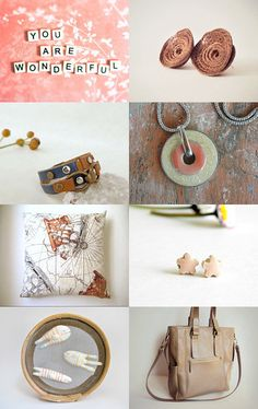 Soft Spring by Bea on Etsy--Pinned with TreasuryPin.com
