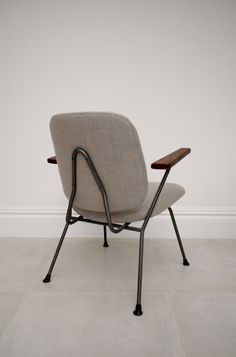 Gispen Kembo chair 1954, vintage, midcentury, Dutch armchair