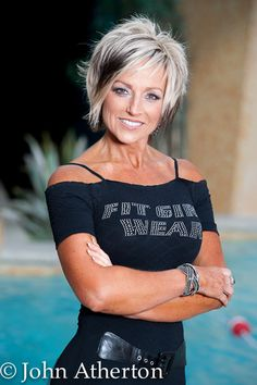 Fifty, Fit, and Fabulous!!! Barbara Server, Age 53 (She lives around the corner…